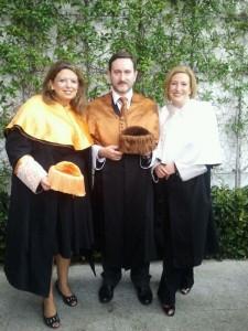 Rosa Sanchidrian, José Enrique Fernández y Ofelia Santiago