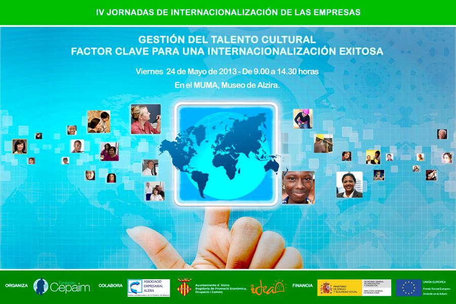 V Jornadas de Internacionalización de las empresas de CEPAIM: Gestión del talento cultural