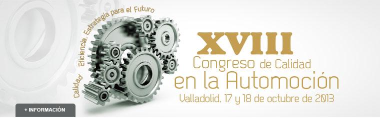 Santiago Consultores ponente en el XVIII Congreso de Calidad en la Automoción