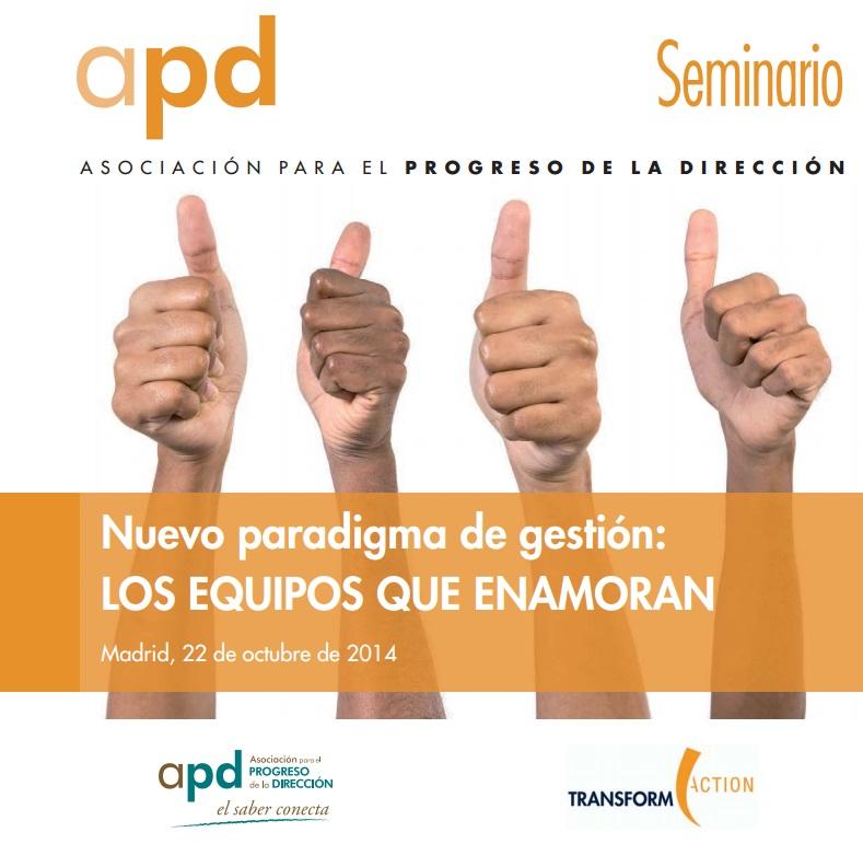 25/11/14 Seminario - Nuevo paradigma de gestión: los equipos que enamoran