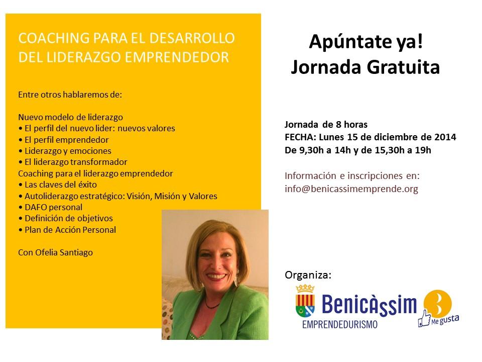Desarrollo del liderazgo emprendedor en Benicàssim
