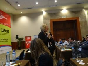 Ofelia Santiago Cumbre Comunicación Política Perú 2015 01