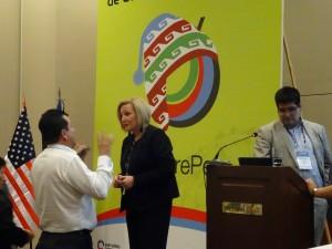 Ofelia Santiago Cumbre Comunicación Política Perú 2015 03