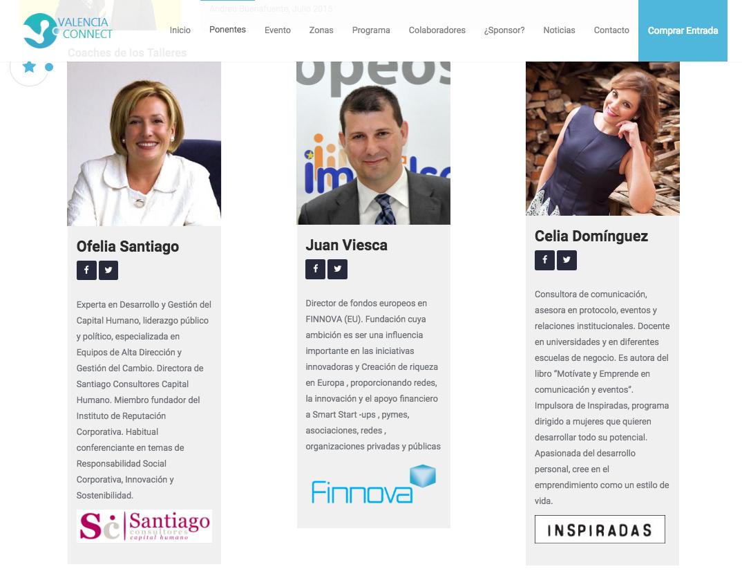 Santiago Consultores abre los talleres de Valencia Connect