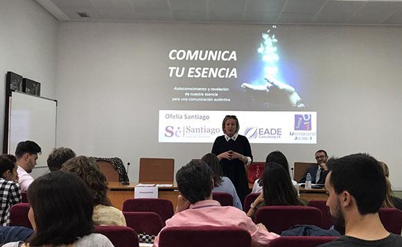 Comunica tu esencia - UJI - EADE - Ofelia Santiago