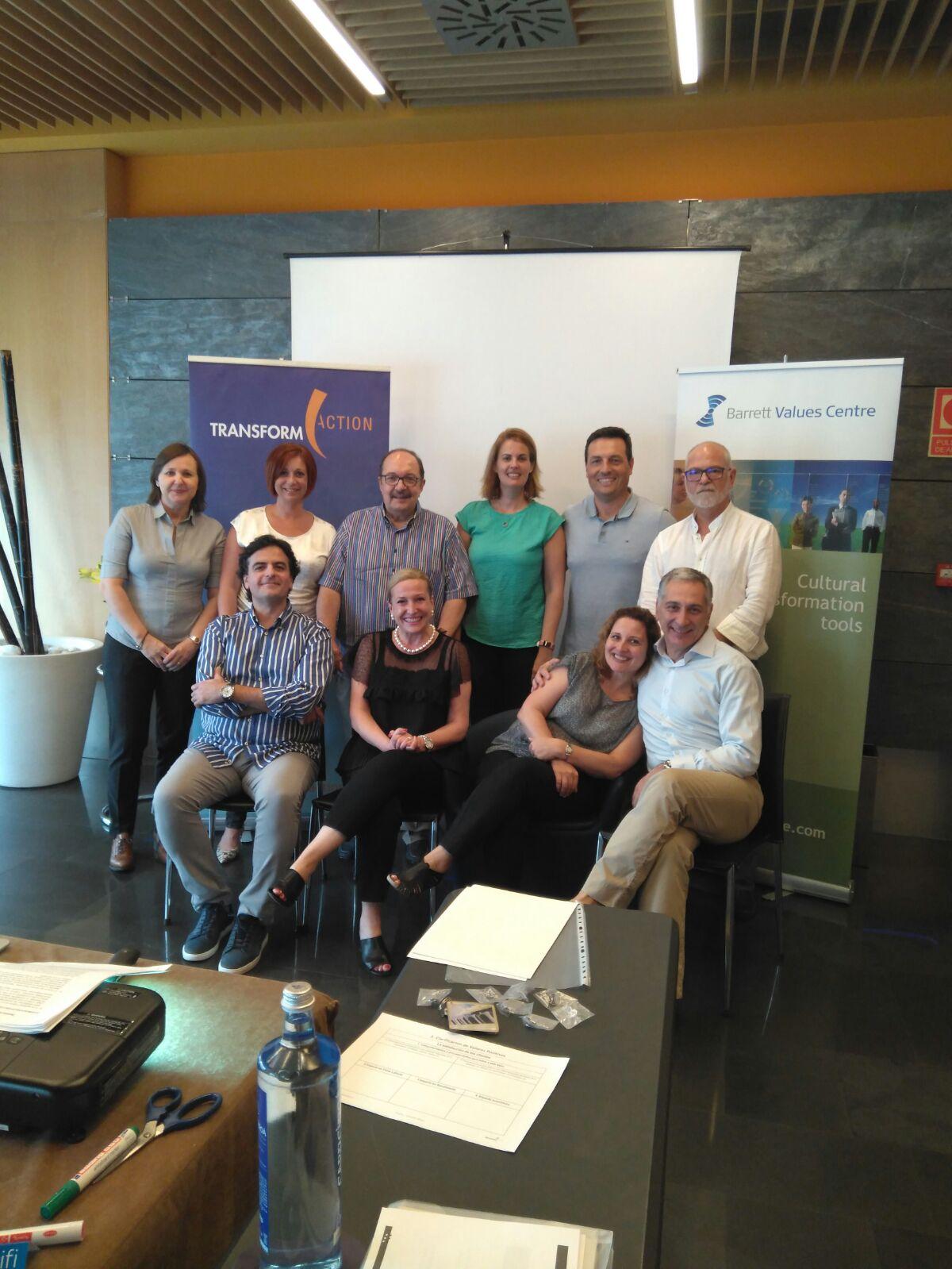 Concluidas las sesiones de certificación CTT junto Transform-Action