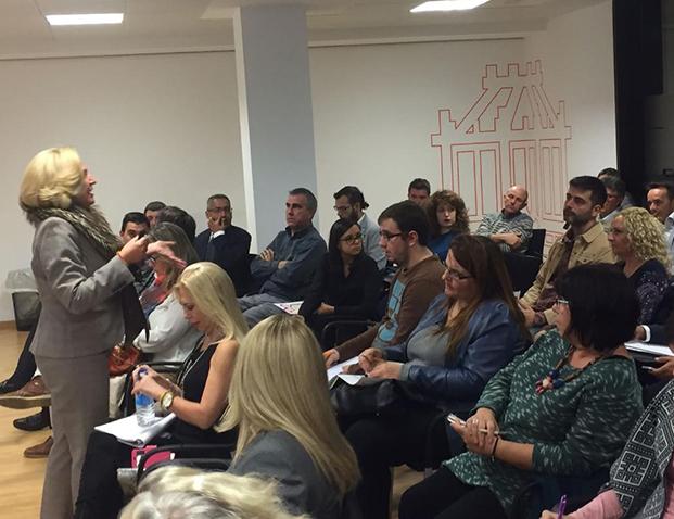 Charla de coaching político de Ofelia Santiago en la jornada política de Gobernatia