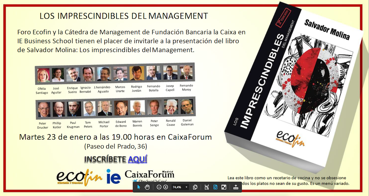 Invitacion imprescindibles management