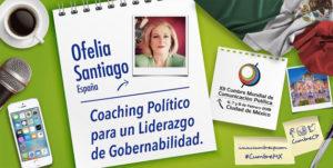 Ofelia Santiago participa en la cumbre de comunicación política de México