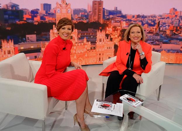 Entrevista a Ofelia Santiago en Telemadrid