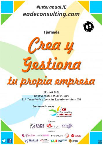 Ofelia Santiago en la Convención de Junior Empresas de Castellón