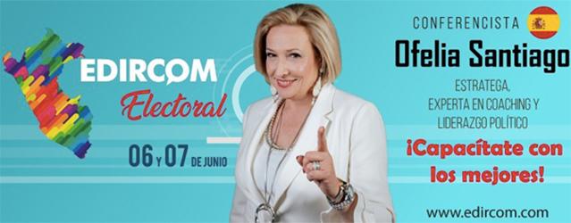 Ofelia Santiago en Edircom Perú