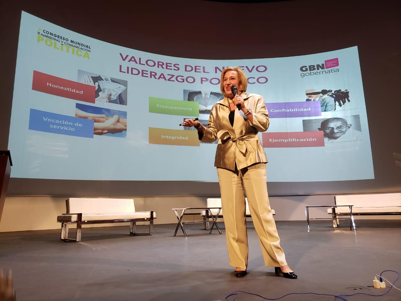 Clausura del Congreso Mundial de Marketing y Comunicación Política de Cali (Colombia)