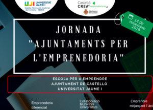 Ofelia Santiago participa en la Jornada Ayuntamientoas para el emprendimiento en Castellón