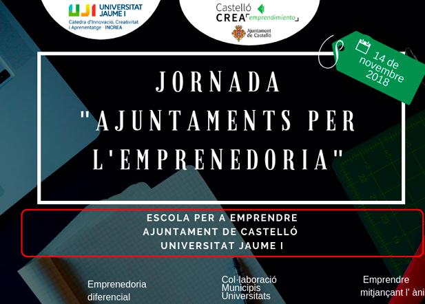"""Emprender a través del alma, título del taller que impartiré en la Jornada """"Ajuntaments per l'emprenedoria"""""""
