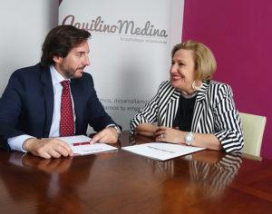 Alianza profesional entre Ofelia Santiago y Aquilino Medina