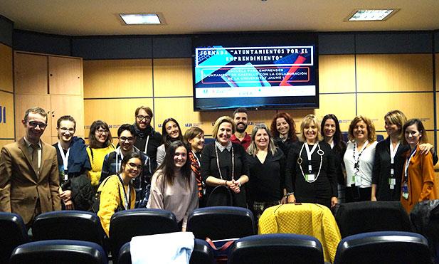 Ofelia Santiago en la jornada para ADLs de la UJI