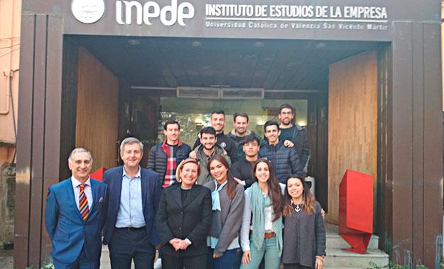 Programa formativo en el Global MBA de la Universidad Católica de Valencia