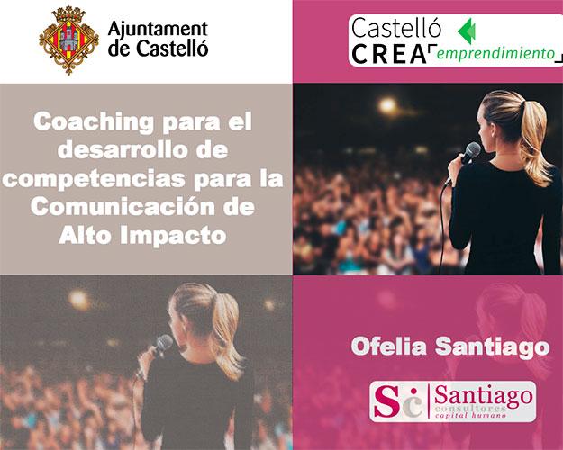 Ofelia Santiago en Jornadas emprendedoras Castellón-1