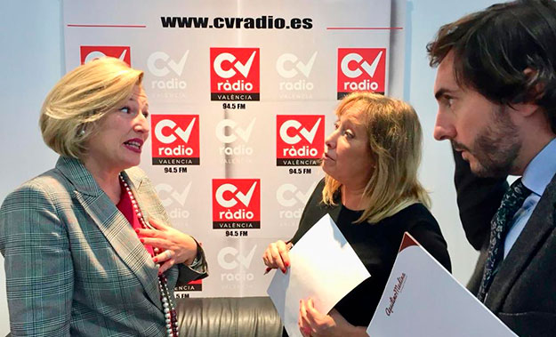 Entrevista en CV Radio Aquilino Medina y Ofelia Santiago