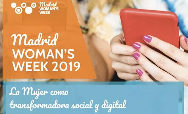 Colectivos de científicas y tecnólogas presentes en Madrid Woman's Week 2019 junto a Ofelia Santiago