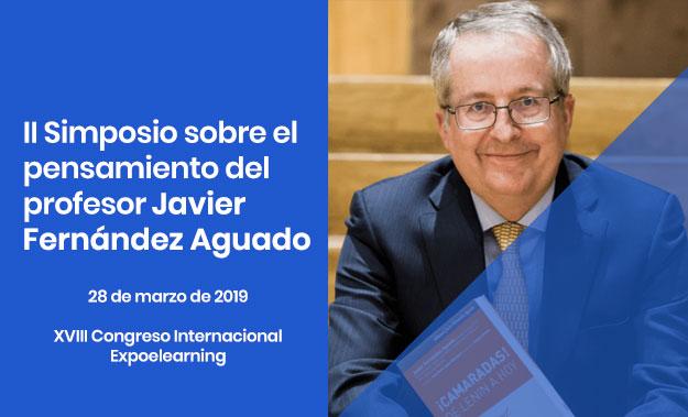 Participación en el II Simposio sobre el pensamiento de Javier Fernández Aguado