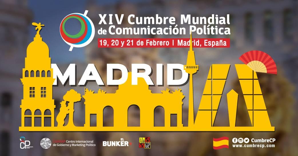 Madrid acoge la XIV Cumbre Mundial de la Comunicación Política