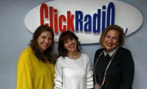 Ofelia Santiago en la tertulia en el programa Mediando con Elena de Click Radio
