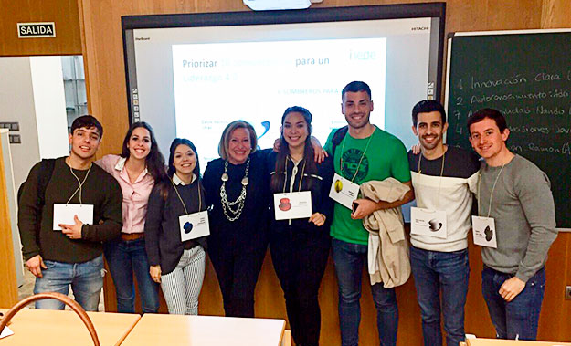 Última sesión del programa de coaching en el Global MBA que imparto en la Universidad Católica de Valencia