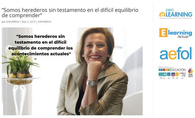 Entrevista de AEFOL sobre el II Simposio del pensamiento de Javier Fernández Aguado