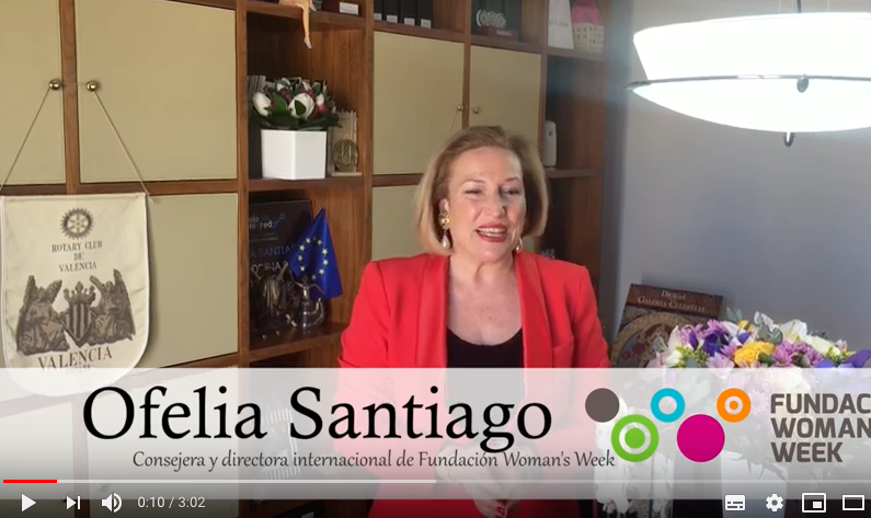 Ofelia Santiago a asistir a Madrid Woman's Week