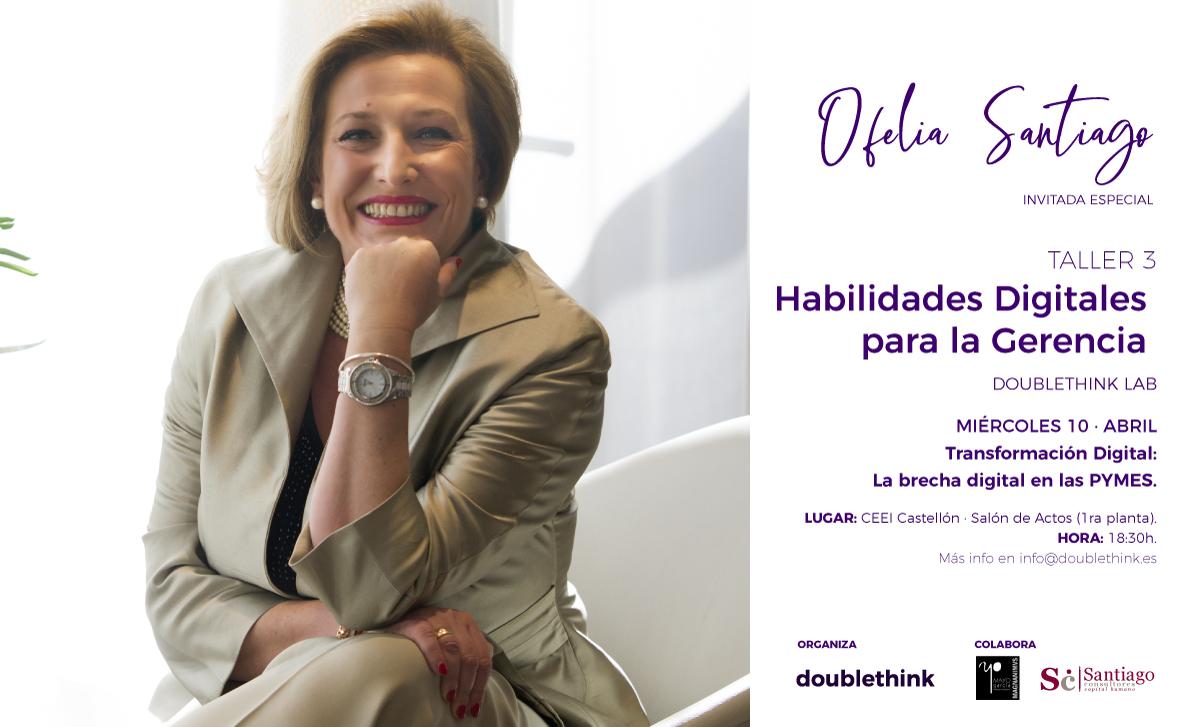 Taller en Castellón sobre habilidades organizacionales ante la brecha digital en las pymes