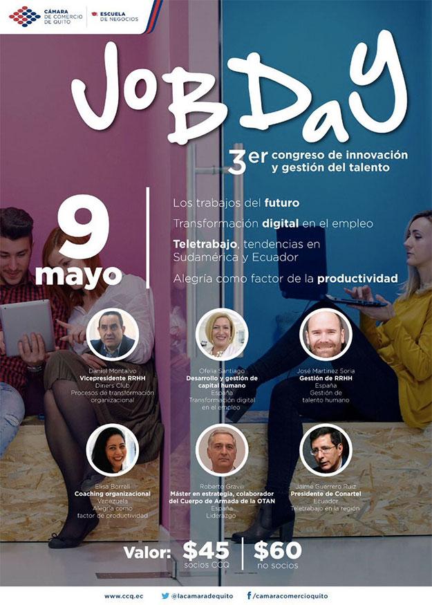 Ofelia Santiago Congreso Job Day Quito