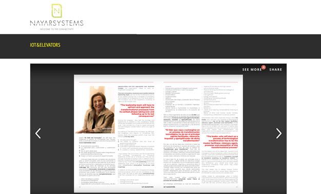 Ofelia Santiago colaboración revista IoT Elevators