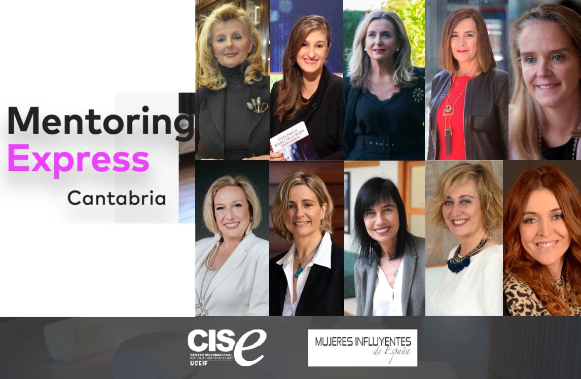 Mentora en el programa Mentoring Express Cantabria que organiza Womantalent y CISE